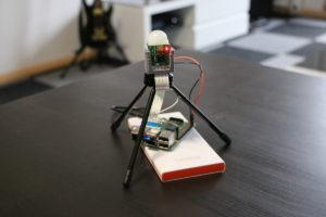 Raspberry Pi mit Kamera und Bewegungssenor